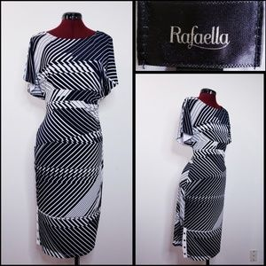 rafaella woman dress size large cold shoulder
